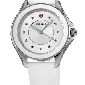 Michele White Women's Watch